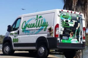 How GreenWay arrives at your house in Las Vegas, our van.