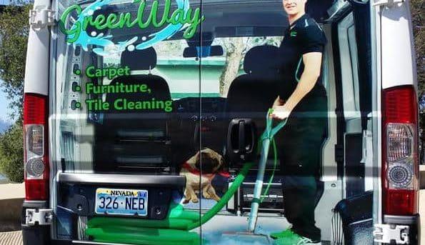 Carpet Cleaning Las Vegas Van