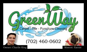 Custom Built Business Cards Carpet Cleaning